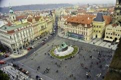 Взгляд центра города Праги Стоковые Изображения