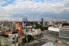 Взгляд центра города 2 Стоковое Фото