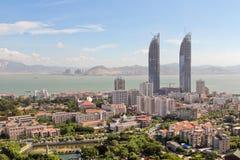 Взгляд центрального Xiamen стоковые фотографии rf