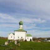 Взгляд церков всех Святых на монастыре Danilov святой троицы Pereslavl-Zalessky Россия стоковая фотография rf