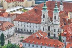 Взгляд церков Граца Mariahilferkirche, Австрии Стоковое Изображение RF