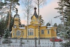 Взгляд церков святых апостолов Питера и Пола Стоковые Изображения RF