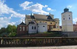 Взгляд церков St Anne стоковые изображения rf