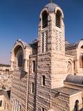 Взгляд церков St Peter в Gallicantu на Иерусалиме старом cit Стоковые Фотографии RF