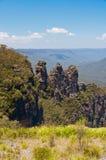 3 сестры, голубые горы, Австралия Стоковые Фото