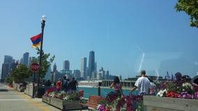Взгляд Чикаго Стоковое Фото