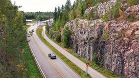 Взгляд шоссе Стоковые Изображения RF