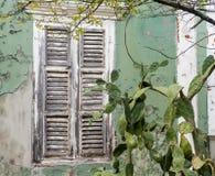 Взгляды вокруг Scharloo - краски шелушения стоковое фото