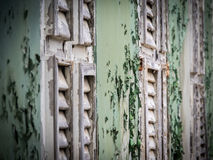 Взгляды вокруг Scharloo - старого окна стоковое изображение