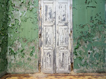 Взгляды вокруг Scharloo - старой двери Стоковая Фотография RF