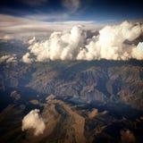 Взгляды высоких гор, Перу стоковое изображение rf
