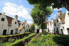 Взгляды городка Brugge (Бельгия) Стоковые Изображения