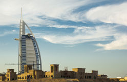 Взгляды Дубай Стоковое Изображение RF