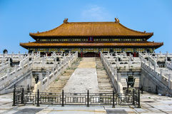 Взгляды запретного города, Пекина Китая Стоковая Фотография RF