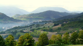 Взгляды итальянской сельской местности стоковое изображение