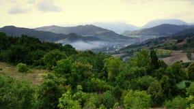 Взгляды итальянской сельской местности стоковая фотография