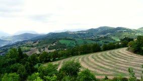Взгляды итальянской сельской местности стоковая фотография rf