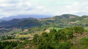 Взгляды итальянской сельской местности стоковые фото