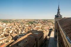 Взгляды к историческому городку toledo, Испании Стоковое Фото