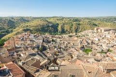 Взгляды к историческому городку toledo, Испании Стоковое фото RF