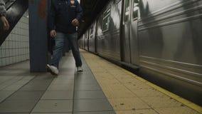 Взгляды метро в NYC видеоматериал