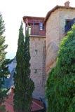 Взгляды монастыря Meteora стоковые изображения rf