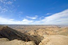 Взгляды над пустыней Atacama, Чили Стоковые Изображения RF