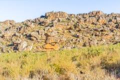 Взгляды на шаге Pakhuis в Южной Африке Стоковое Фото