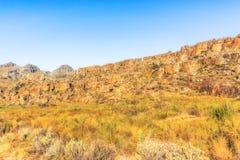 Взгляды на шаге Pakhuis в Южной Африке Стоковые Изображения