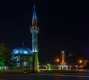 Взгляды ночи Izmir Стоковая Фотография