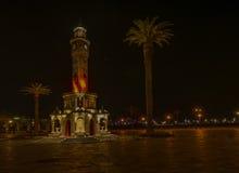 Взгляды ночи Izmir Стоковое Изображение RF