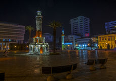 Взгляды ночи Izmir Стоковое Фото