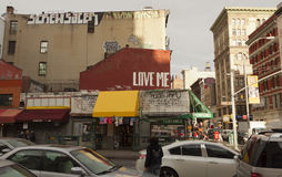 Взгляды Нью-Йорка, США стоковая фотография rf