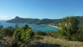 Взгляды от острова Гамильтона Стоковое Изображение RF