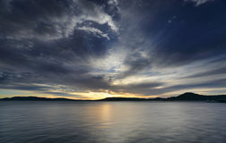 Взгляды от Koolewong через 'воды Брисбена Стоковое Фото