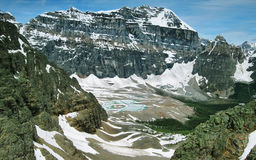 Взгляды долины рая Стоковое фото RF
