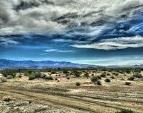 Взгляды пустыни от южной Калифорнии - HDR Стоковая Фотография RF