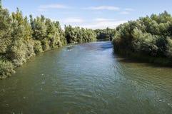 Взгляды реки Esla Стоковые Фото