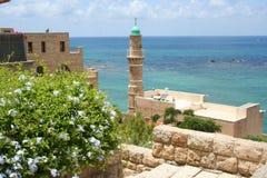 Взгляды среднеземноморского в Яффе, Тель-Авив, Израиле Стоковое Изображение RF