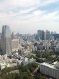 Взгляды токио от смотровой площадки Стоковые Изображения