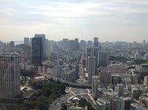 Взгляды токио от смотровой площадки Стоковая Фотография