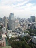 Взгляды токио от смотровой площадки стоковые изображения rf