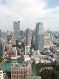 Взгляды токио от смотровой площадки стоковая фотография rf