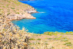 Взгляд Эгейского моря Стоковое Изображение