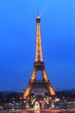 Эйфелеваа башня, Париж. Стоковая Фотография RF