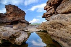 взгляд Юты песчаника стоковая фотография rf