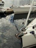 Взгляд яхты в морском пехотинце Норвегии Svolvaer яхта sailing Стоковые Изображения