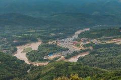 Взгляд для lannscape в prabang luang Стоковая Фотография