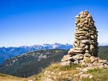 взгляд alps apuan Стоковая Фотография