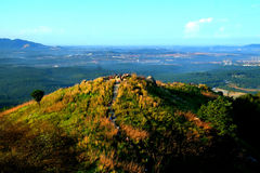 Взгляд Ariel холма Broga Стоковые Фотографии RF